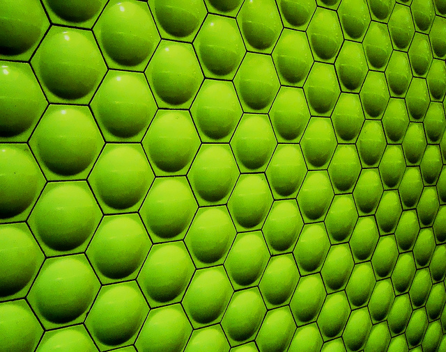 Pattern In Photography Green Walls